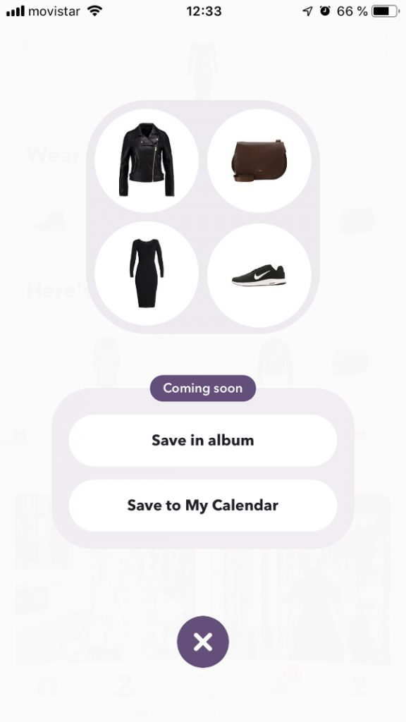 Ensemble of clothes to create your outfit in Chicisimo outfit planning app