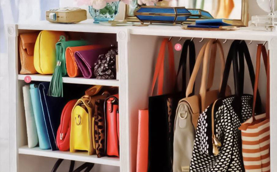 closet organized by your needs