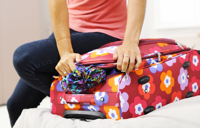 Do not overpack -How to prepare the perfect suitcase for your vacations