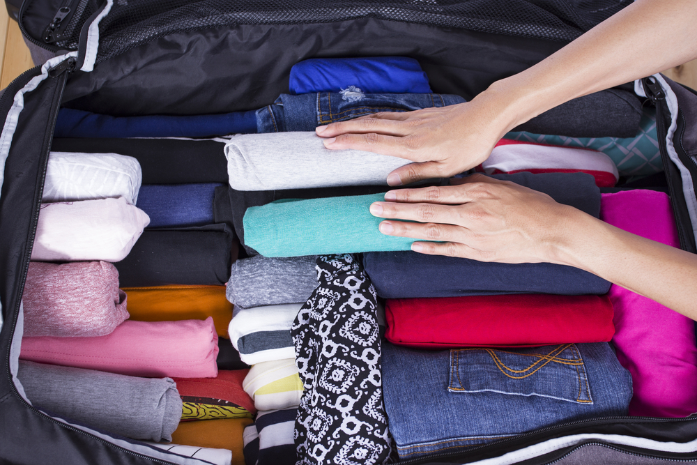 Roll and fold - How to prepare the perfect suitcase for your vacations