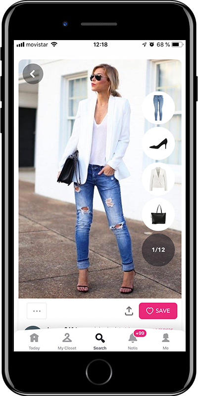A basic blazer every woman needs to have in her wardrobe from Chicisimo outfit planner app