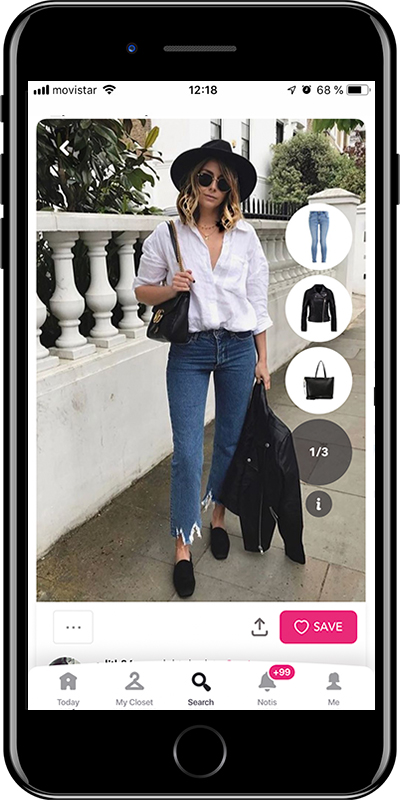Comfortable basic flats every woman needs to have in her wardrobe from Chicisimo outfit planner app