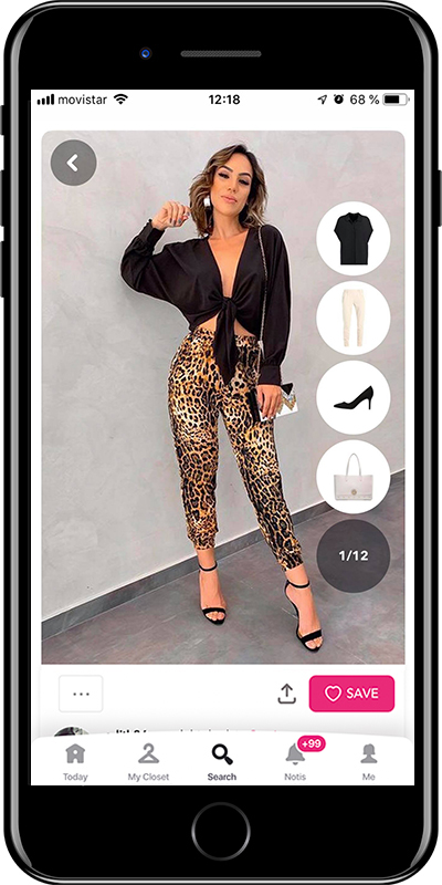 Outfit with leggings by Chicisimo fashion planner app