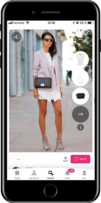 A stylish chic outfit by Chicisimo fashion planner app