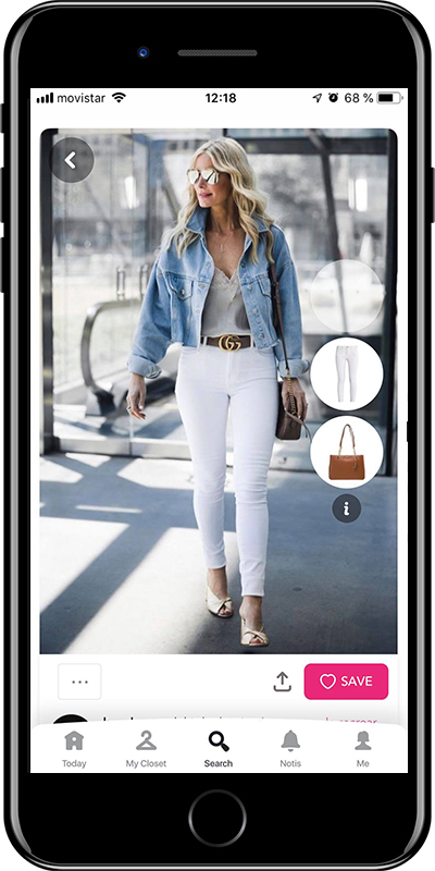 Outfit with jeans from Chicisimo outfit planner app