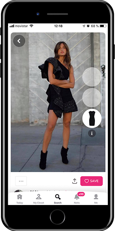 A night outfit by Chicisimo outfit planner app
