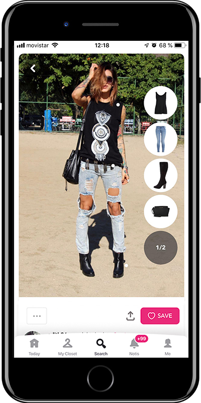 What to wear for a outdoor musical festival by Chicisimo planner app