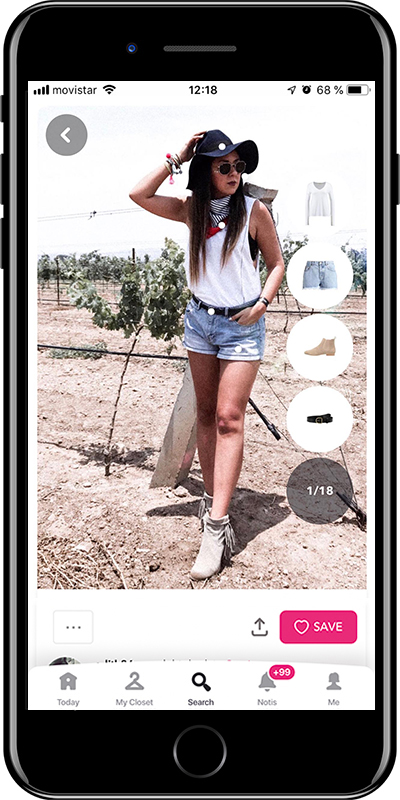 What to wear for a summer musical festival by Chicisimo planner app