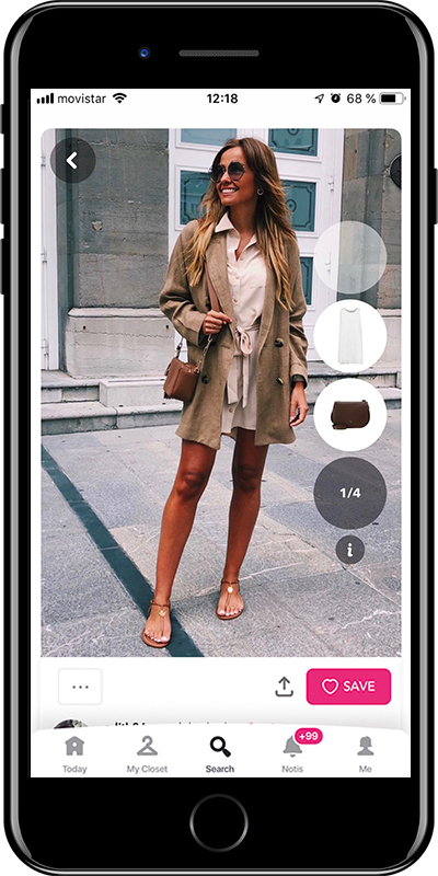 A chic outfit by Chicisimo fashion planner app