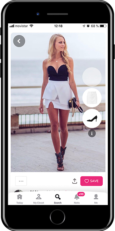 A summer night out outfit by Chicisimo outfit planner app