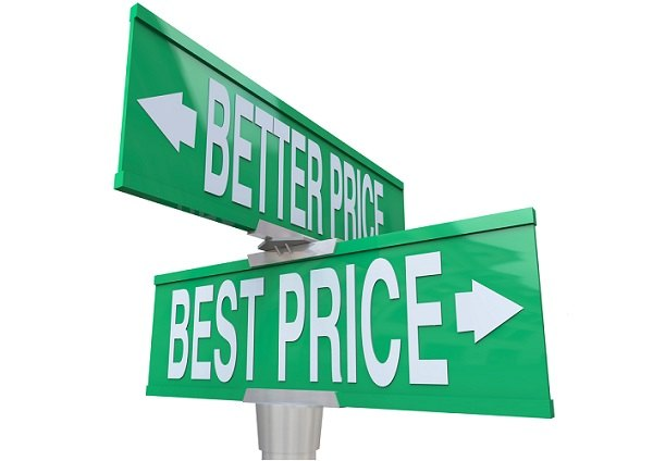 Best prices and better prices