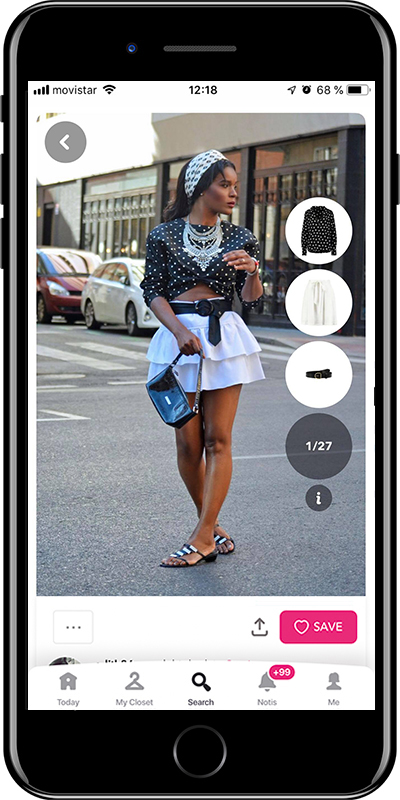 Girl with a scarf on her head is a way to wear a scarf by Chicisimo fashion planner app