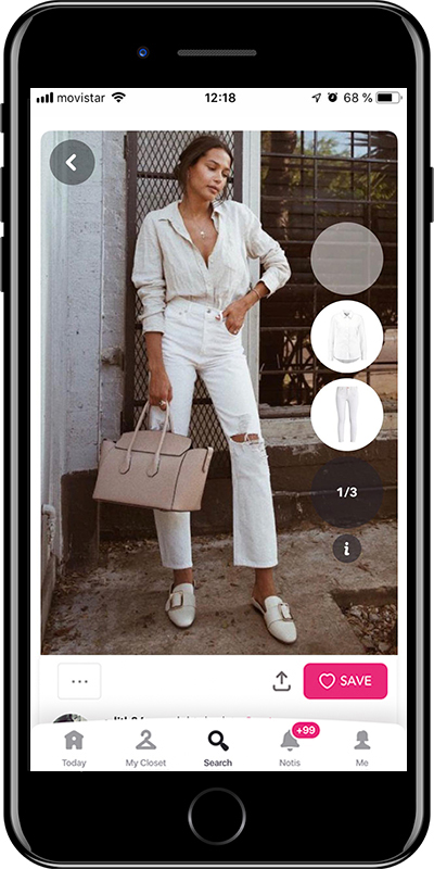 A basic simple outfit by Chicisimo fashion planner app