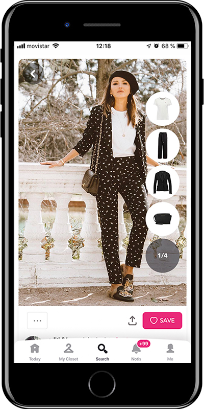 A trendy outfit by Chicisimo fashion planner app