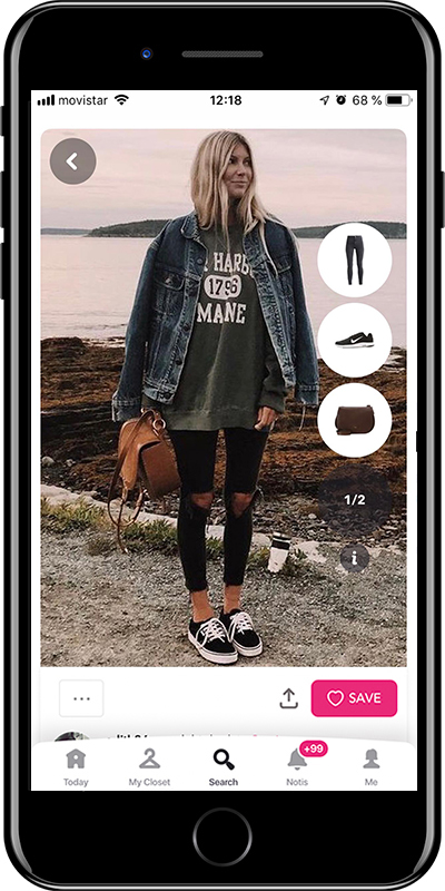 A casual outfit by Chicisimo fashion planner app