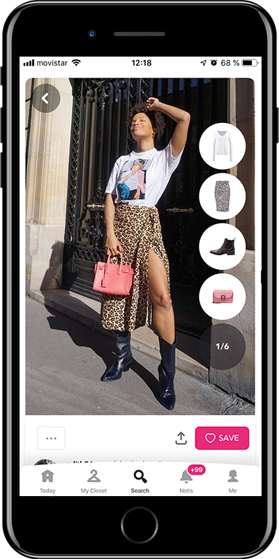 Wear your cowboy boots with a animal print skirts with this outfit by Chicisimo fashion planner app