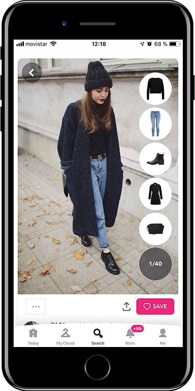 Using caps is one of the tips for dressing in winter without losing your style