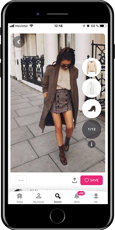 Wearing woollen skirts is one of the tips for dressing in winter without losing your style