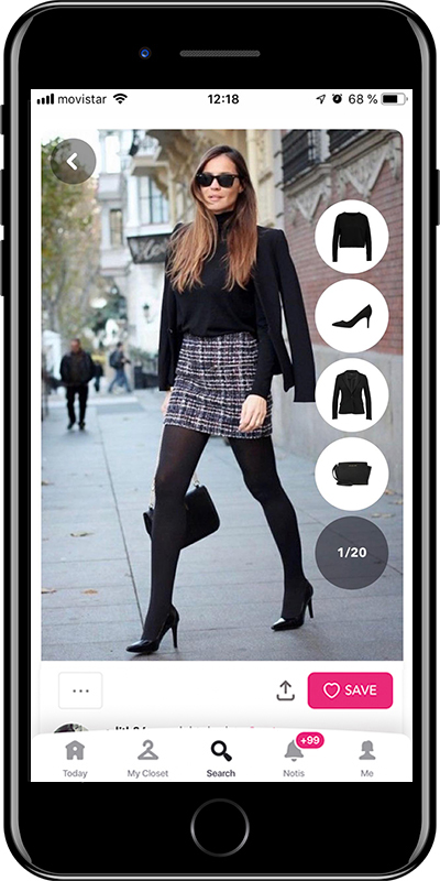 Comfortable pumps are a basic for working outfits by Chicisimo fashion planner app