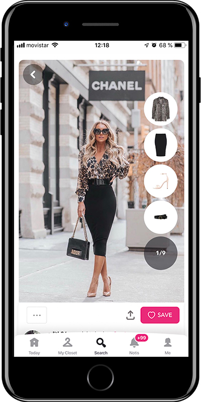 A pencil skirt is a basic for working outfits by Chicisimo fashion planner app